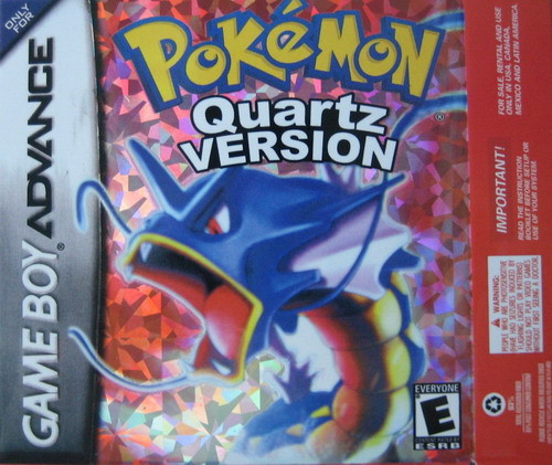 GBA Game  Pokemon Quartz Version